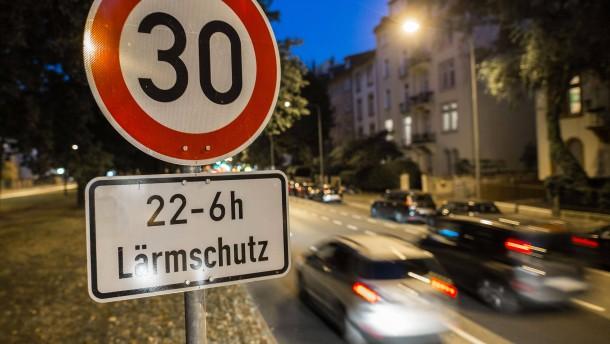 Städte wollen selbst über Tempolimits entscheiden