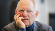 Schäuble: SPD und Union dürfen sich nicht von AfD verleiten lassen