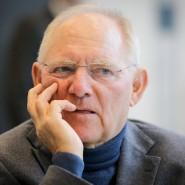 Finanzminister Schäuble will – anders als CSU-Chef Seehofer – das Rentenniveau nicht zum großen Wahlkampfthema machen.