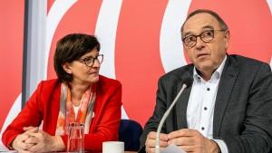 """CSU kritisiert """"strammen Linkskurs"""" der SPD"""