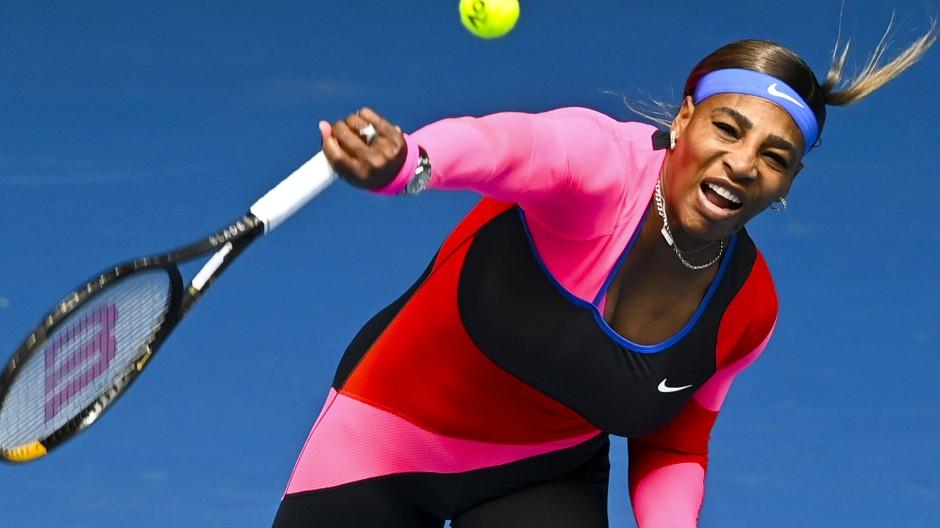 Noch nicht wieder fit: Tennis-Star Serena Williams