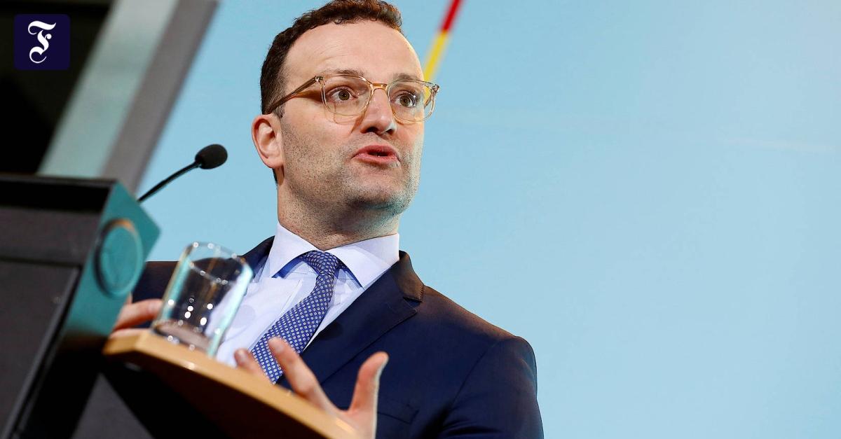 """Gesundheitsminister Spahn: """"Deutschland steht am Beginn einer Coronavirus-Epidemie"""""""