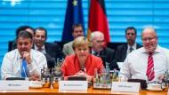 Bundesregierung hält an Sanktionen gegen Russland fest