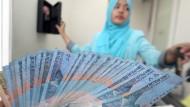 Bereitet Kopfzerbrechen: die indonesische Rupiah.