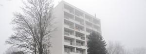 In einem Wohnhaus in Neuss lebte der 21 Jahre alte Terrorverdächtige