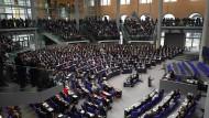 Zur Zeit im Stand-by-Modus: der Bundestag
