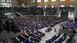 Wie der Bundestag ohne Regierung entscheidet