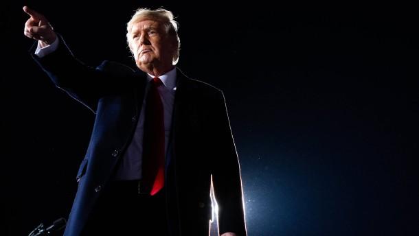 Donald Trumps Selbstbetrug in Georgia