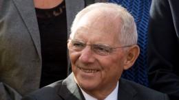 Wolfgang Schäuble warnt vor Ost-West-Spaltung Europas