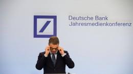 Schatten über der Deutschen Bank