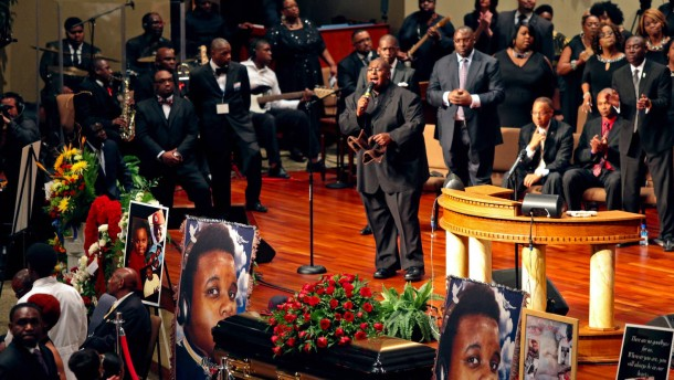 Hunderte trauern um getöteten Michael Brown