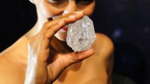 Riesendiamant für fast 50 Millionen Euro verkauft