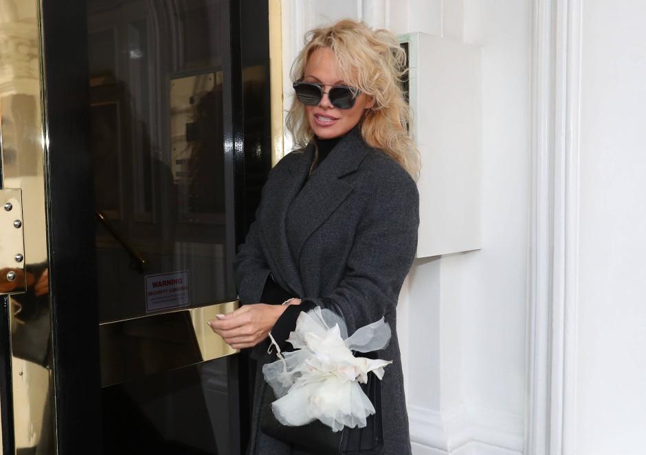 Prominenter Besuch für Assange: Pamela Anderson an der ecuadorianischen Botschaft in London