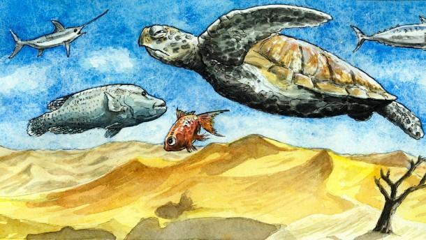Illustration / Staaat und Recht Greser und Lenz / Kampf um Ressourcen