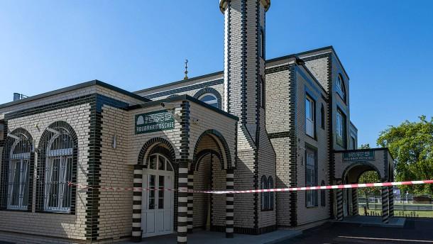 In Frankfurt ruft der Muezzin zum Gebet