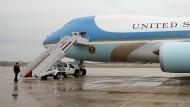 Die Air Force One, das Flugzeug des amerikanischen Präsidenten – eine Boeing.