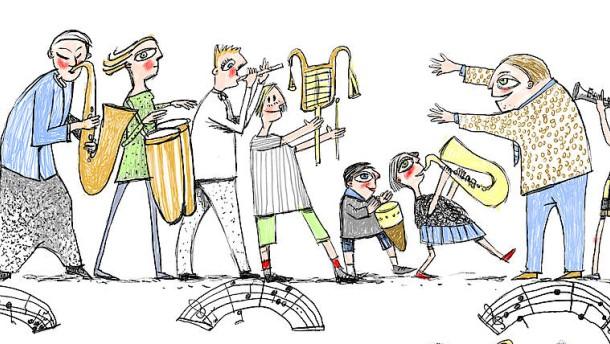 Uraufführung auf dem Pont du Gard