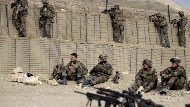 Vier französische Soldaten getötet