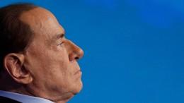 Berlusconi sagt Fernsehauftritt ab