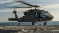 Amerikaner retten saudische Piloten vor Küste des Jemen