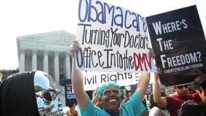Obamas Krankenversicherung gehen die Anbieter aus