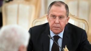Russlands Außenminister kommt ins Weiße Haus