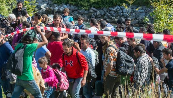 Gut 135 000 Flüchtlinge in Bayern