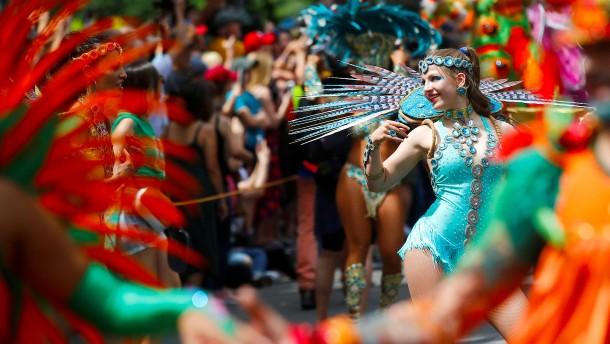 So bunt war der Karneval der Kulturen