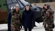 Kommt nicht zur Münchener Sicherheitskonferenz: Frankreichs Präsident Emmanuel Macron.