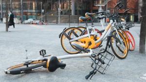 Wer sammelt nun die ganzen Obike-Leihräder ein?