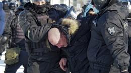Dutzende Festnahmen bei Pro-Nawalnyi-Protesten