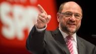 Schulz erklärt Kampf für Lohngerechtigkeit zur Priorität