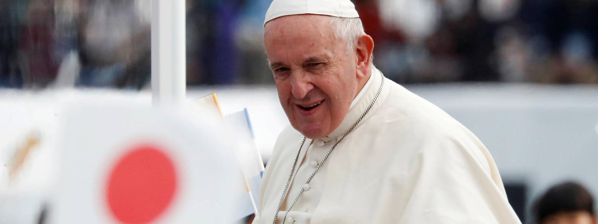Papst fordert Abschaffung der Atomwaffen