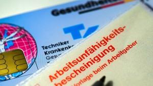 Erhöhter Krankenstand kostet Arbeitgeber 1,6 Milliarden Euro