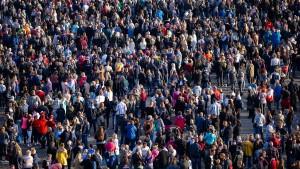 Bevölkerung in Deutschland wächst langsamer
