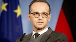 Maas bleibt hart bei Brexit-Vertrag