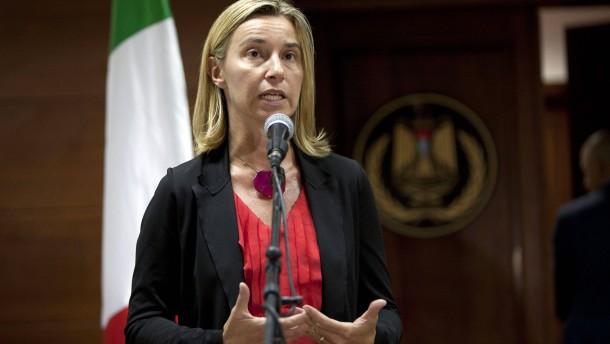 Widerstand gegen Mogherini