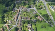 Die verkaufte Ortschaft West Heslerton.