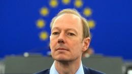 Martin Sonneborn will Sitz im Europaparlament verteidigen