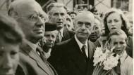 In Weimar wiederholte Thomas Mann seine Frankfurter Goethe-Rede.
