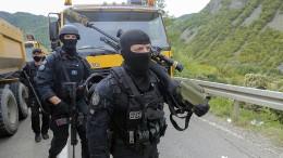 Serbisches Militär alarmiert wegen Kosovo-Polizisten im Grenzgebiet