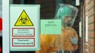 Isolierstation: Der mit dem Lassa-Virus infizierte Patient wurde in Frankfurt aufgenommen. (Symbolbild)
