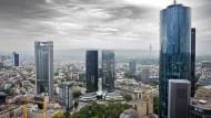 """Könnte von einem """"Brexit"""" profitieren, hat aber unter anderem Paris als Konkurrenz: Finanzplatz Frankfurt am Main"""
