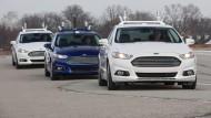 Google und Ford verhandeln über Fertigung selbstfahrender Autos
