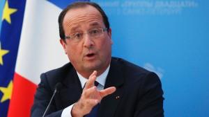 Hollande: Frankreich bleibt mobilisiert