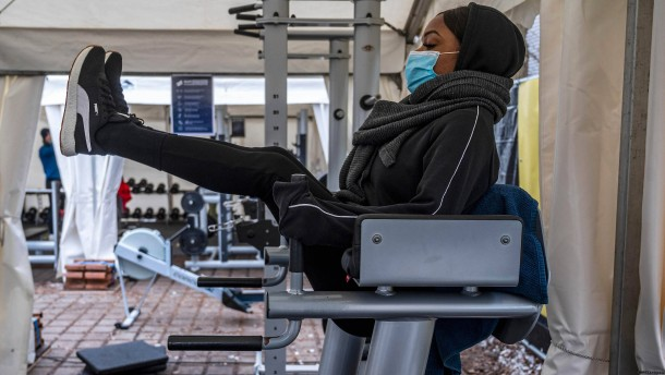 Fitnessstudios öffnen im Freien