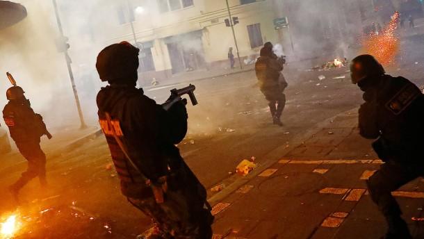 Tödlicher Kampf in Bolivien