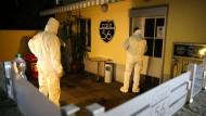 Spurensicherung am Tatort in Basel