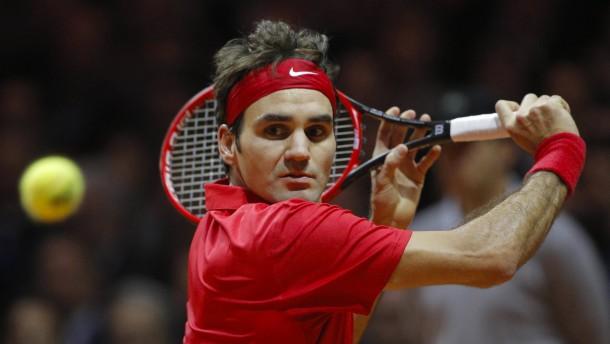 Der Rücken hält - doch Federer muss leiden
