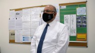Sieht das Schlimmste noch kommen: Firass Abiad, der Direktor des Rafik-Hariri-Krankenhauses in Beirut, der zentralen Stelle im Kampf gegen Corona.